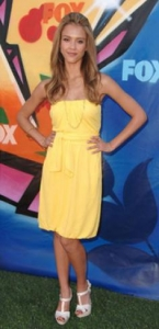 Jessica Alba at Teen Choice Awards