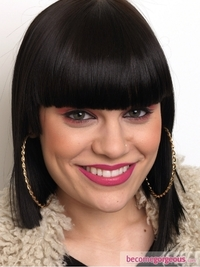 Jessie J Bright Pink Makeup