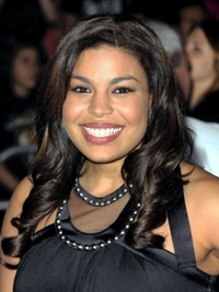 Jordin Sparks Long Curly Hairstyle