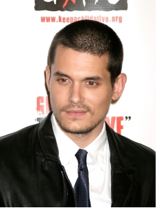 John Mayer with Classic Crew cut