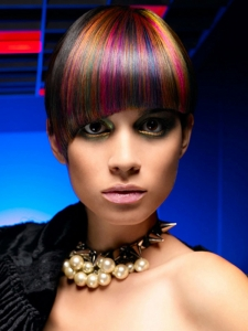 Vibrant Scene Hair Color