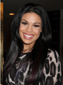 Jordin Sparks Long Straight Hairstyle