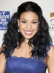 Jordin Sparks Pinned Back Waves
