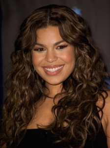 Jordin Sparks Tousled Waves Hairstyle