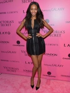 Jourdan Dunn at the VS Show 2012 After Party