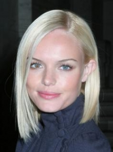Kate Bosworth's Platinum Blonde Bob Hairstyle