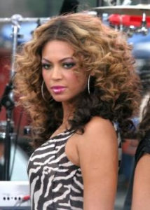 Beyonce's Defined Curls Hairstyle