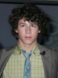 Nick Jonas' Long Curly Hairstyle