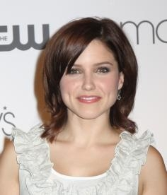 Sophia Bush with Flicked Bob Haircut
