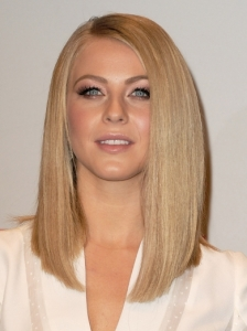 Julianne Hough Sleek Long Bob Hairstyle