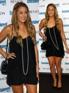 Lauren Conrad in Stella McCartney Black Dress