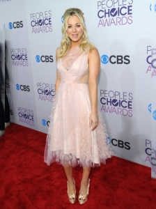 Kaley Cuoco's Dress at 2013 People's Choice Awards