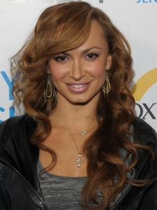 Karina Smirnoff Long Curly Hairstyle