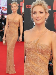 Kate Hudson in Atelier Versace Gown