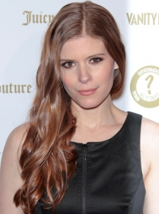 Kate Mara Long Wavy Hairstyle