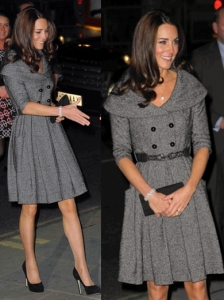Duchess Kate in Jesire Coat Dress