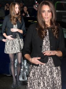 Duchess Kate in Zara Lace Dress