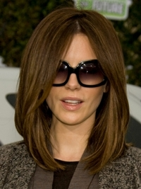 Kate Beckinsale's Long Bob Hairstyle