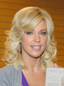Kate Gosselin Medium Curly Hairstyle
