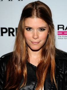Kate Mara Long Boho Hairstyle