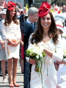 Kate Middleton in Reiss Dress for Canada Day
