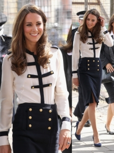 Duchess Kate in Alexander McQueen