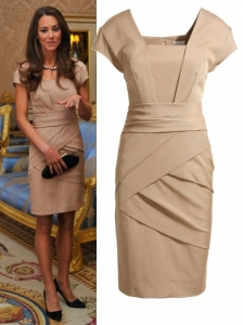 Kate Middleton in Reiss Shola Dress