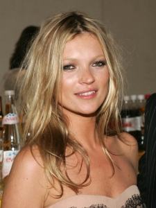 Kate Moss Rock Chick Hairstyle