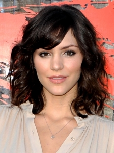 Katharine McPhee Wavy Medium Hairstyle