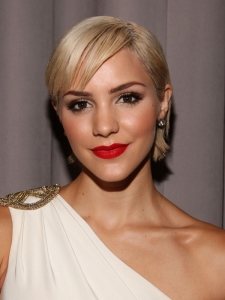 Katharine McPhee New Short Blonde Haircut
