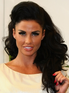 Katie Price Big Hairstyle with Hump