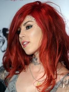 Kat von D Ruby Red Hair Color