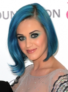 Katy Perry's Flicked Bob Hairstyle