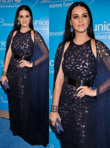 Katy Perry in Naeem Khan Embroidered Gown