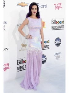 Katy Perry in Blumarine Embellished Gown