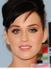 Katy Perry Golden Eye Makeup