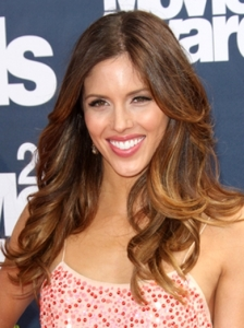 Kayla Ewell Lush Curls 2011 MTV Movie Awards