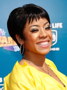 Keisha Cole Short Pixie Haircut