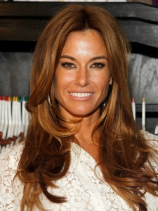 Kelly Bensimon Hairstyle with Caramel Highlights