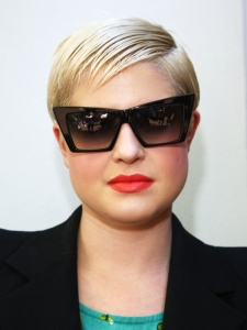 Kelly Osborne Short Slicked Hairstyles