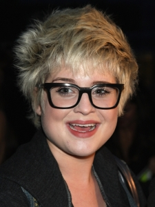 Kelly Osborne Messy Pixie Hairstyle