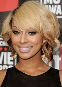 Keri Hilson Copper Eye Makeup