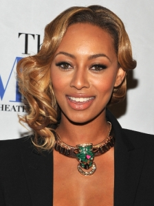 Keri Hilson Sculpted Waves Hairstyle