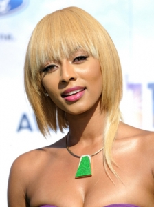 Keri Hilson Blonde Bob 2011 BET Awards