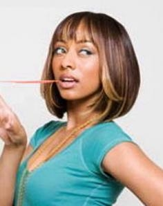 Keri Hilson with Long Bob