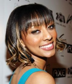 Keri Hilson Hair Highlights