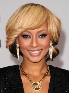 Keri Hilson's Bob Hairstyle at the 2010 AMAs