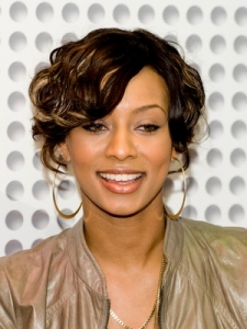 Keri Hilson's Curly Bob Hairstyle