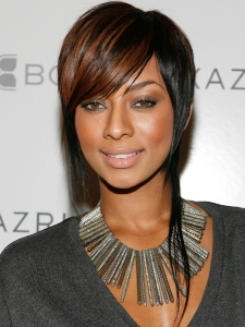 Keri Hilson Short Razor-Cut Hairstyle
