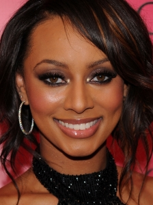 Keri Hilson Brown Smokey Eyes Makeup